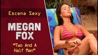"Megan Fox en ""Two And A Half Men"" 