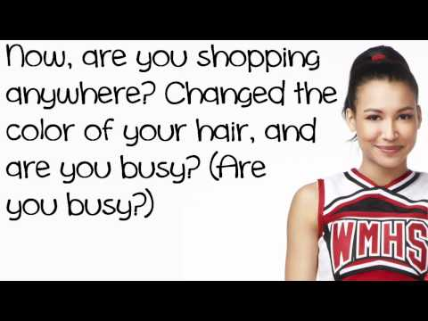 Glee Cast - Valerie (lyrics) video