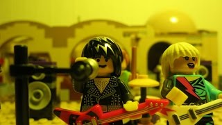 Vantage Point - Stressed Out - Mos Eisely Cantina, Tattooine, Star Wars Lego Brick Film