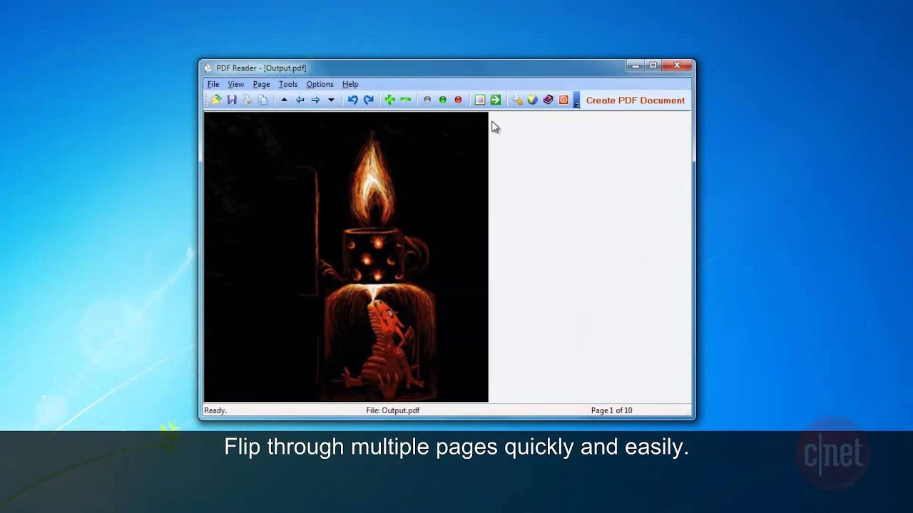 how to close pdf file in windows 7