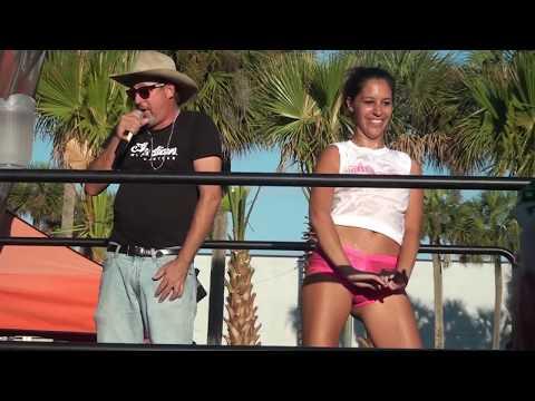 Wet T-shirt Contest Pt.1 At Dirty Harry's Biketoberfest 2013 video