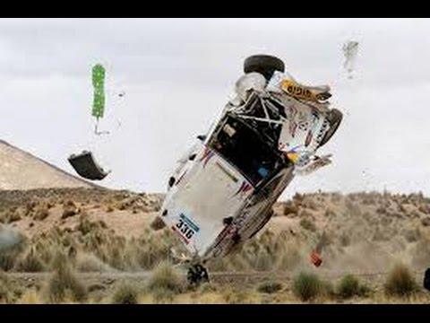 36 Years Of Dakar 1979 2015   Crashes   36 AÑOS DEL DAKAR 1979 2015