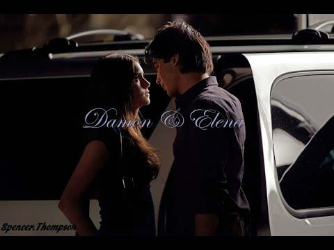 Damon & Elena | Drawn together. And not pulling away.