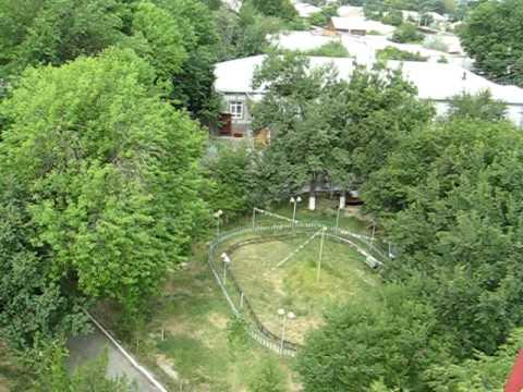 Один круг на чертовом колесе. Панорама Янгиера. Лето 2010