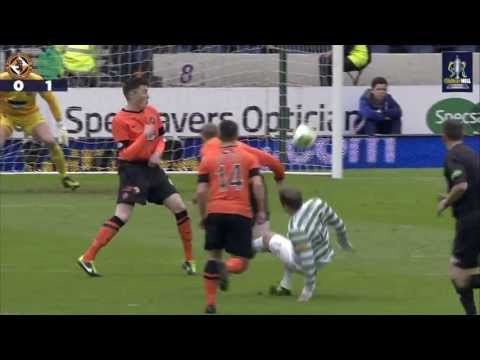 Dundee Utd 3-4 Celtic / GOALS ( Scottish Cup Semi Final 2013 )