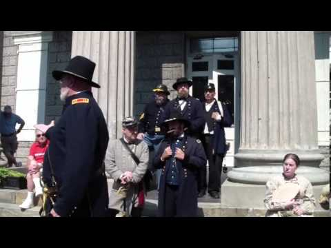 Vicksburg Surrender 150th Old Courthouse Ceremony and Program