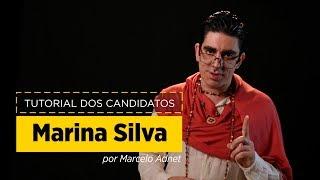 Marcelo Adnet imita Marina Silva