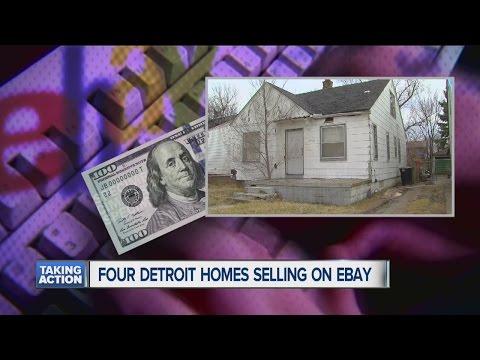 Detroit homes on eBay