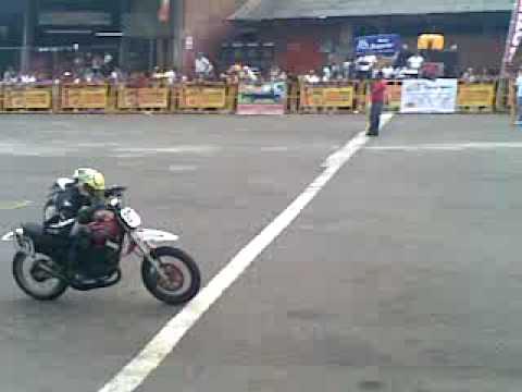 cavasa carrera de motos 150Cc