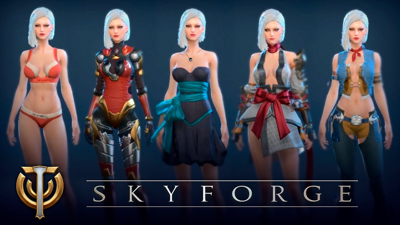Skyforge вся одежда