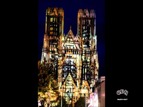 Reims Cathedrale Lumiere Cathédrale de Reims 800ème