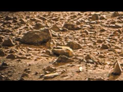 NASA Mars Rover: images: Dead Alien Found on Planet Mars
