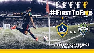 Video First to Five | Second Leg vs