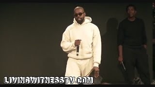 "Kanye West ""There Is Nothing Too Hard For God"" (Freestyle)"