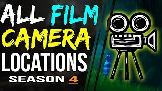 Fortnite FILM CAMERAS LOCATIONS - Dance in Front of Different Film Cameras Challenge ALL CAMERAS