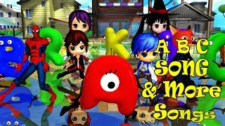 ABC Thriller Song & More Songs | Kids Songs | Nursery Rhymes | Baby Songs | Children Songs