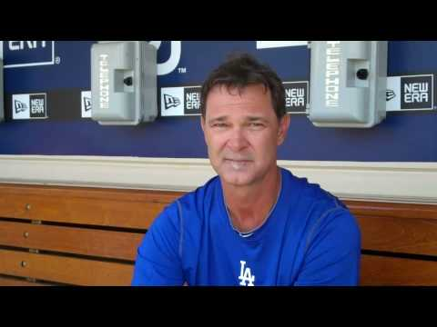 Don Mattingly talks Dodgers hitters + NL Rivalry