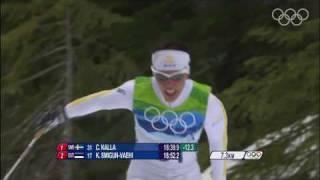 Charlotte Kalla (SWE) Wins Cross-Country Skiing 10km Gold - Vancouver 2010 Olympics