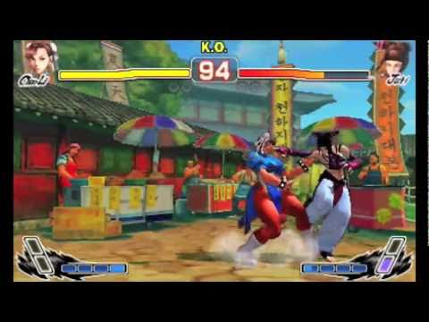 Super Street Fighter IV 3D Edition Walkthrough 3DS – Gameplay Video