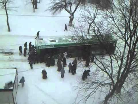 Как толкать автобус нужно — 2 ))