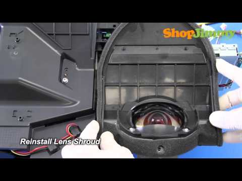 DLP TV Chip Replacement - How to Replace DLP Chip in DMD Board - DIY Easy Repair