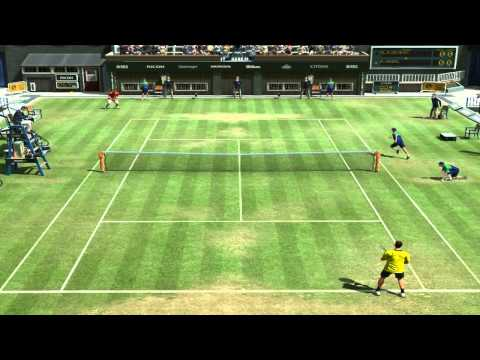 Novak Djokovic VS Rafael Nadal - Virtua Tenis 4