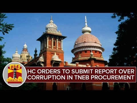 Madras HC Orders To Submit Report Over Corruption in TN Electricity Procurement Case