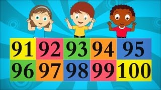 The Big Numbers Song for Children - Ep 6
