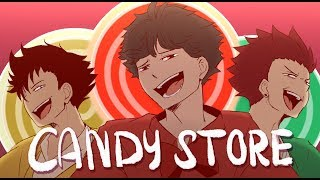 [Animatic] Candy Store|| Haikyuu Version