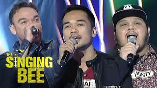 Rock session with Basti, Marc and Monty on The Singing Bee