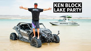 Can-Am Wakesurf Slingshot?? Ken Block's Guide to Awesome Can-Am Riding Spots: Lake Powell, Utah