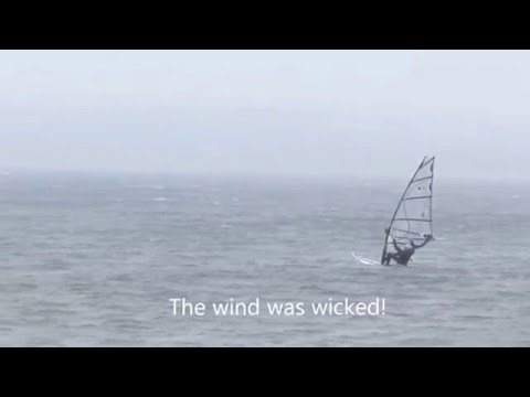 Windsurfing Crescent Beach