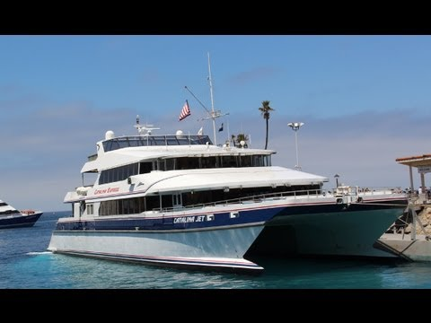 Catalina Island Vacation - Jet Ferry ride