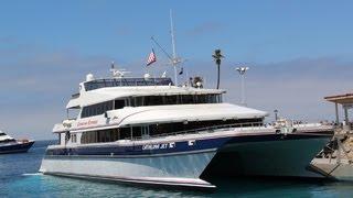 Catalina Island Vacation - Jet Ferry ride