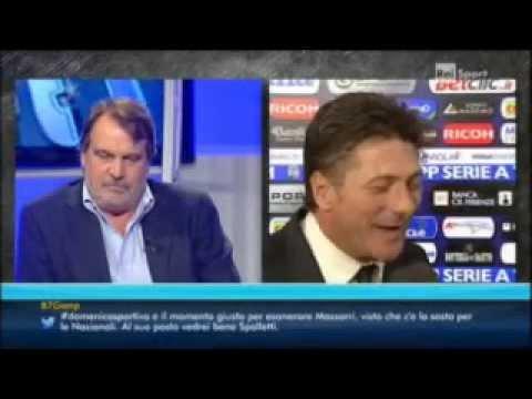FIORENTINA - INTER 3-0 - MAZZARRI IL MAGNIFICO NELLE CHIACCHIERE CON NOSTALGIA NAPOLETANA