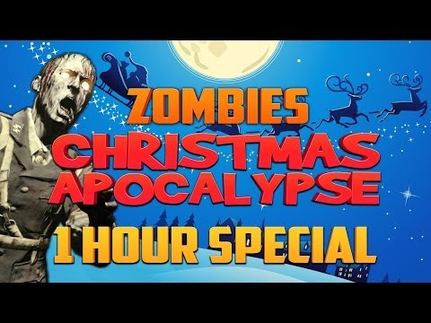 CHRISTMAS ZOMBIE APOCALYPSE - 1 HOUR SPECIAL ★ Call of Duty...