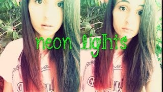 """Neon Lights"" Fan Video 