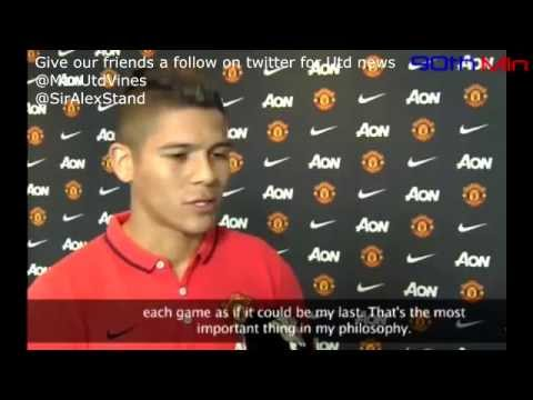 Marcos Rojo's first Man Utd Interview