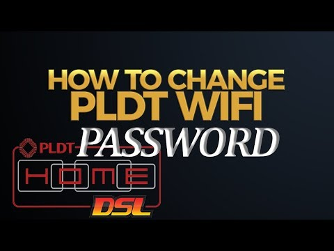 how to change wifi password pldt mydsl
