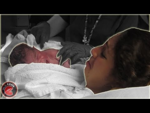 Baby Delivery - Day 22 - Little Eddie Is Here!! video