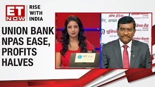 Union Bank's CEO, Rajkiran Rai speaks on gross net NPAs & recovery for FY 19 -20