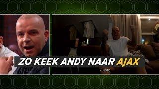 Zo keek Andy naar Juventus-Ajax: 'Oh wat lekker zeg!' - VTBL