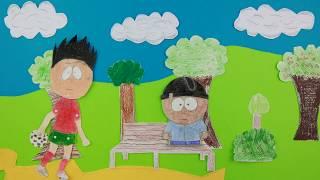 Atelier film d'animation - Stopmotion - Deux amis deux sports - Apprentis d'Auteuil Domont