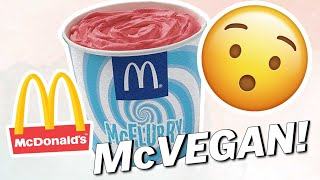 The MCFLURRY Goes VEGAN | Vegan News | LIVEKINDLY