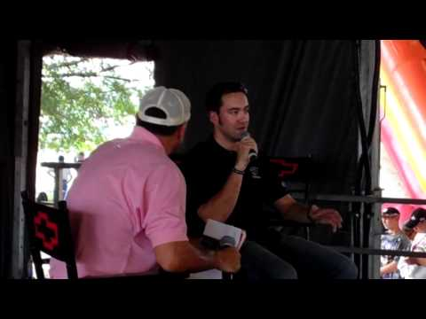 Interview with Paul Menard at the Team Chevy Racing Display in Richmond
