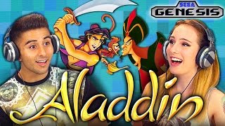 ALADDIN (SEGA GENESIS) (Teens React: Retro Gaming)