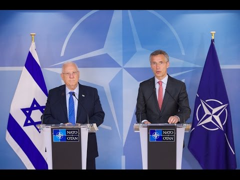 NATO Secretary General and the President of Israel, 21 JUN 2016