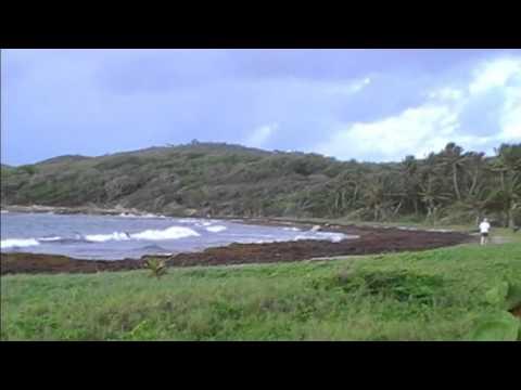 Plage de macabou Vauclin Martinique