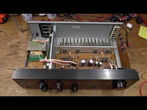 Sony TA-F110 Amplifier [1/2] - Diagnosis thumbnail
