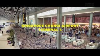 Màn hình led sân bay Changi